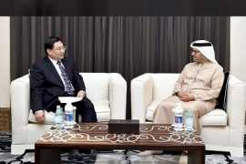Minister of State for Foreign Affairs Gargash meets with Chinese official
