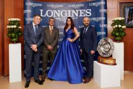 Aishwarya Rai at the Inaugural Event of the Dubai World Cup Carnival 2018