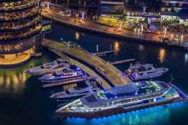 Brunch is now served on a 220-foot yacht in Dubai