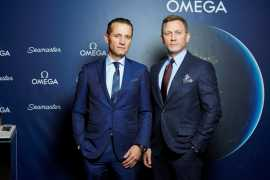 Daniel Craig joins OMEGA event in NY celebrating the history of the Seamaster collection