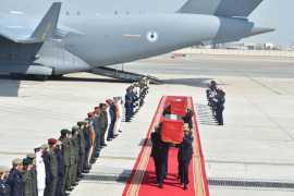 Bodies of Emirati pilots killed in Yemen arrive in UAE