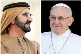 We are bound by our humanity: Sheikh Mohammad on Pope's visit