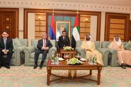 HH Sheikh Mohammed bin Rashid meets Armenian President