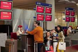 Emirates expects a busy travel period ahead of the holiday season
