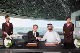 Louvre Abu Dhabi signs landmark partnership with Etihad Airways