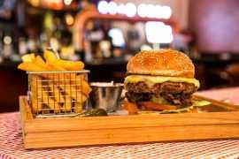 Special burger menu at Grand Millennium Al Wahda