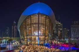 Celebrate New Year's Eve at Dubai Opera in Downtown Dubai