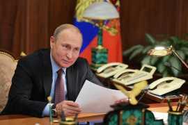Putin celebrates his birthday