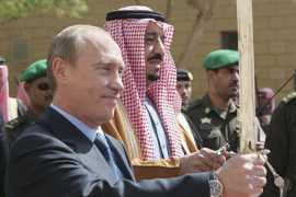 Putin Is Filling the Middle East Power Vacuum