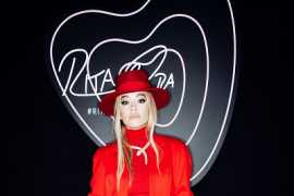 Rita Ora shines in Bvlgari