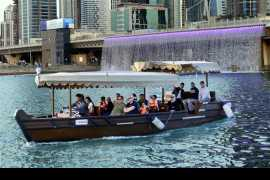 Now enjoy a ride aboard a traditional abra on the Dubai Water Canal!