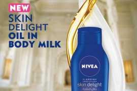 Skin Delight: oil in body milk moisturizer