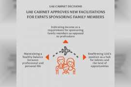 UAE Cabinet approves new provisions for sponsoring expat family members