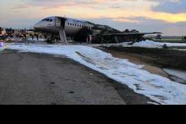 В катастрофе самолёта Sukhoi Superjet 100 в Шереметьево погиб 41 человек (Видео)