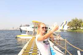 Take a bird view of Ajman with Seawings Seaplane