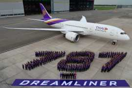 Thai Airways ban obese flyers and young kids from business class on new Dreamliner