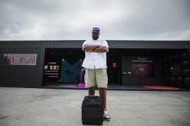 TUMI Previews the DJ Bag at Sole DXB