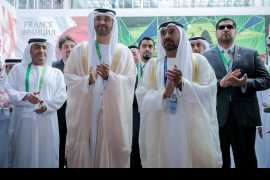 H.H. Sheikh Ahmed inaugurates the UAE Pavilion at Expo 2017 Astana
