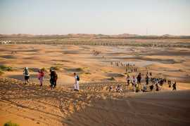 400 Adventurers take on The Caracal Challenge in Abu Dhabi's Al Khatim desert