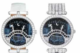 The Pont des Amoureux timepiece: the beginning of a love story