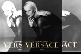 A book written by Donatella Versace