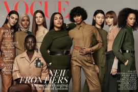 British Vogue makes history featuring hijab-wearing model on cover