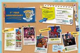 Warner Bros. World™ Abu Dhabi celebrates one year of unrivalled family fun!