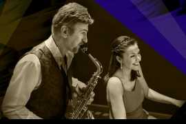 Саксофон и фортепиано. Концерт в Дубае