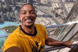 Will Smith in Dubai: Actor marvels at sheer scale of Burj Khalifa
