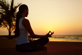 Jumeirah group's at-home yoga tips for a healthy mind, body & soul